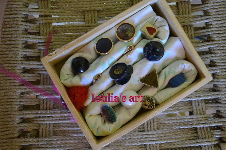 It's a creative idea to storage your rings. http://iouliasart.blogspot.gr/