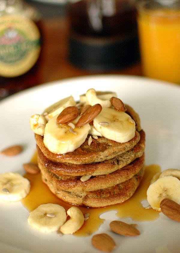 #banany #migdały #zdrowe #mniam #słodkości #pancakes #smacznastrona #tesco #przepisy