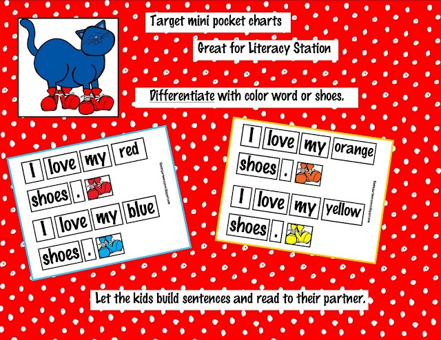 Kindergarten Crayons: Pocket Chart Pete