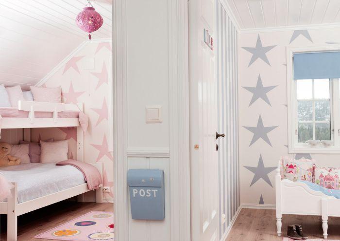Las habitaciones compartidas ni o ni a m s bonitas - Habitaciones pintadas infantiles ...