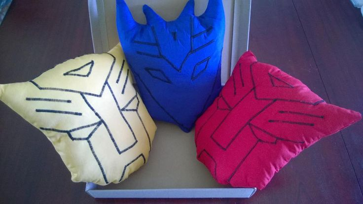 Tuto gratuit en anglais coussin Transformers (9) Name: 'Sewing : Transformers Cushions