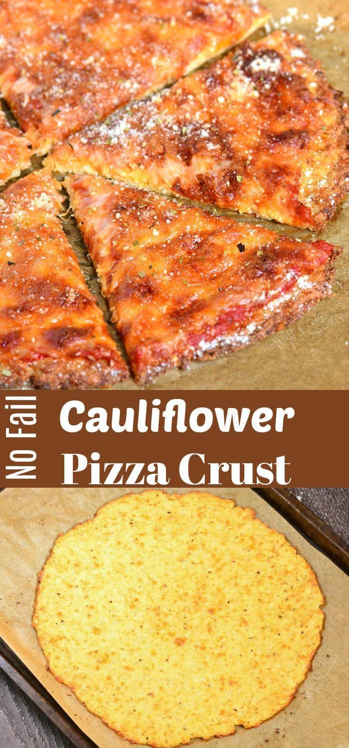 Cauliflower Pizza Crust recipe is a great low carb and gluten free option for a …  – * The Cheese Board *
