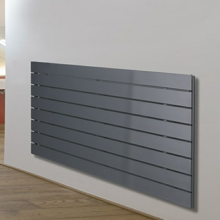 Desrad Hera Deluxe Horizontal Radiator - Single