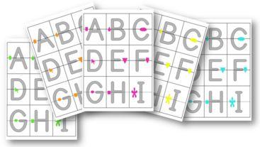 Puzzle des lettres capitales