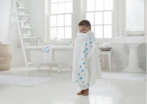 Asciugamano Bambino Fluro Blue