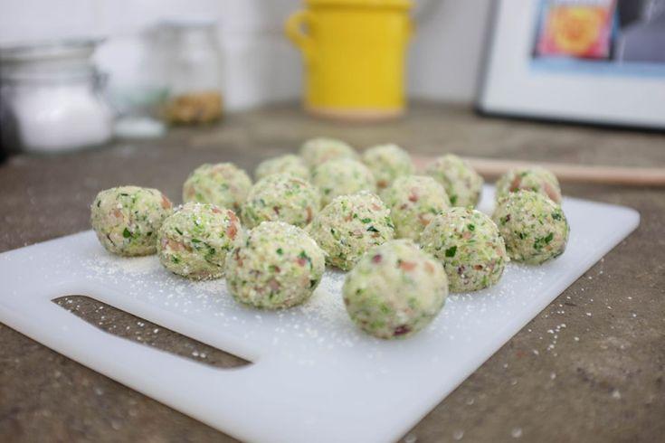 Polpette vegetariane di Zucchine e Feta - Ricetta