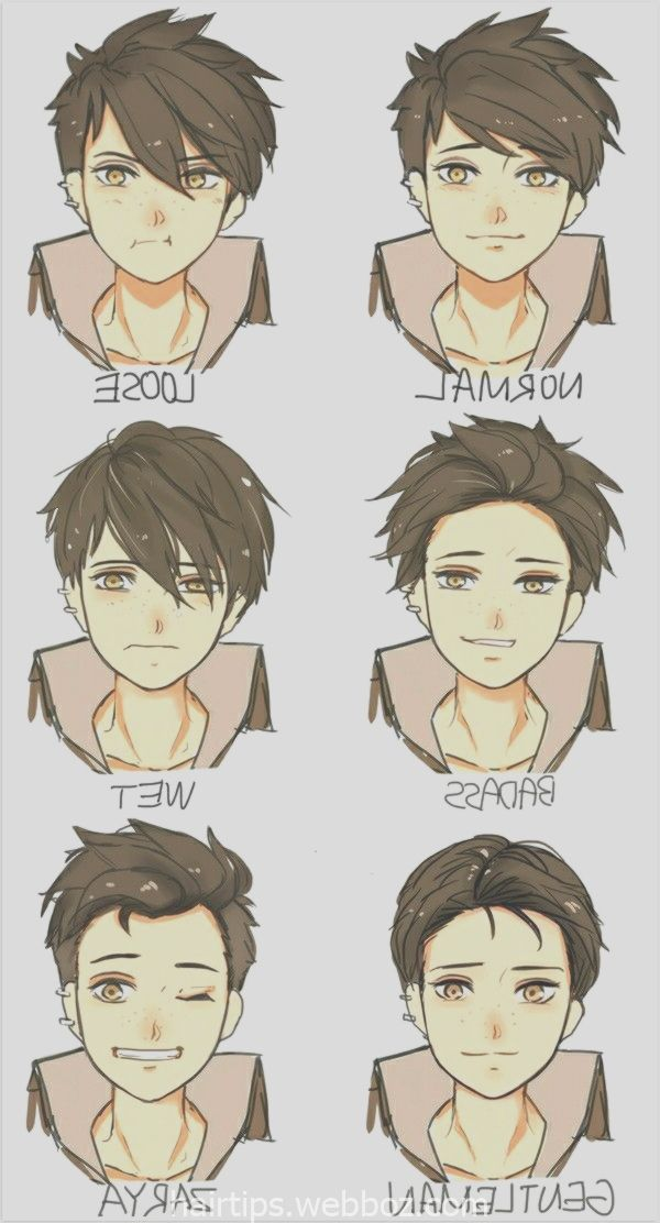 Draw Reference Style Young Men Hairstyles Hairstyles Young Male Anime Boy Hair Anime Drawings Anime Hair