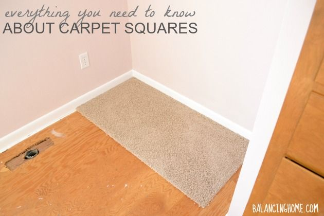 Carpet Tile - Everything you need to know about carpet squares and why we chose them for our daughters bedroom.
