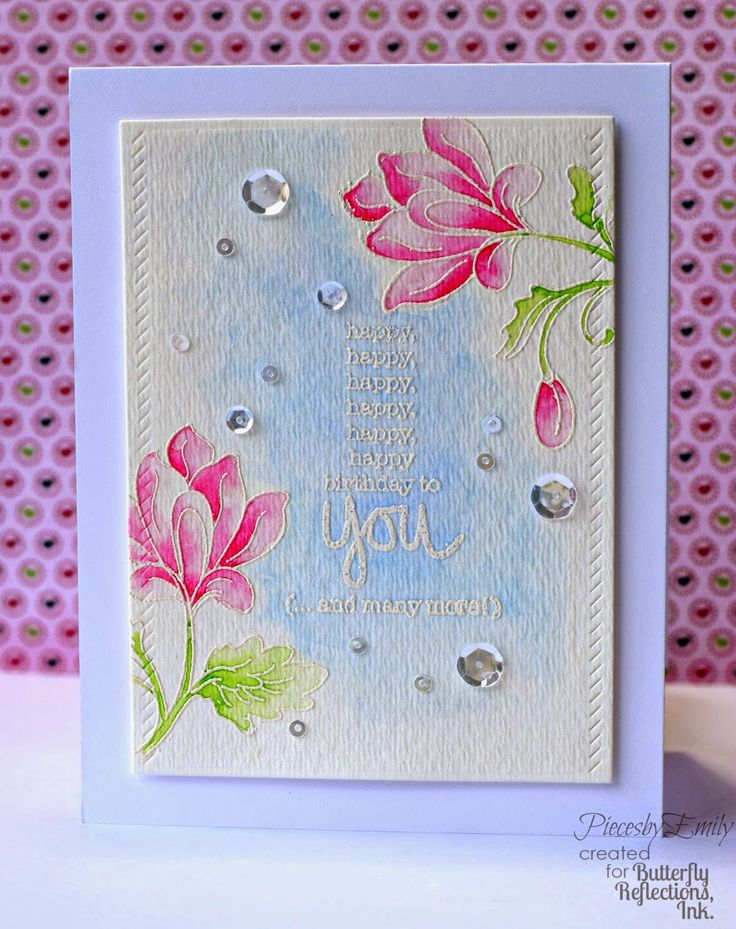 Altenew, Persian Motifs, PiecesbyEmily, Emily Frasier, card making, handmade card, clear stamps, birthday card