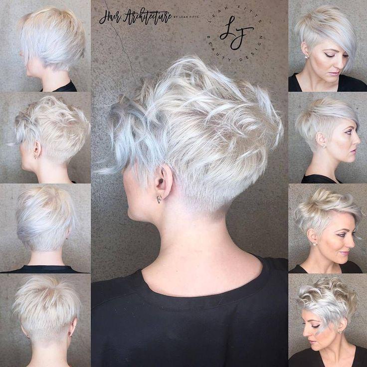 10 unordentliche Frisuren für kurze Haare - Cut & Color Update