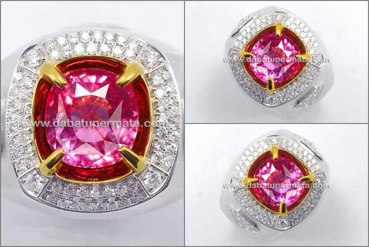 Elegant Sparkling PADSPARADSCHA Top Colour (PP 112)