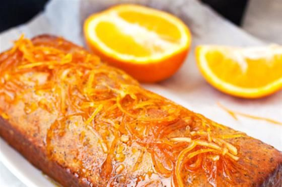 Orange and Almond Marmalade Syrup Cake. A truly wonderful cake for a decadent afternoon tea. #recipe #FarmhouseDirect