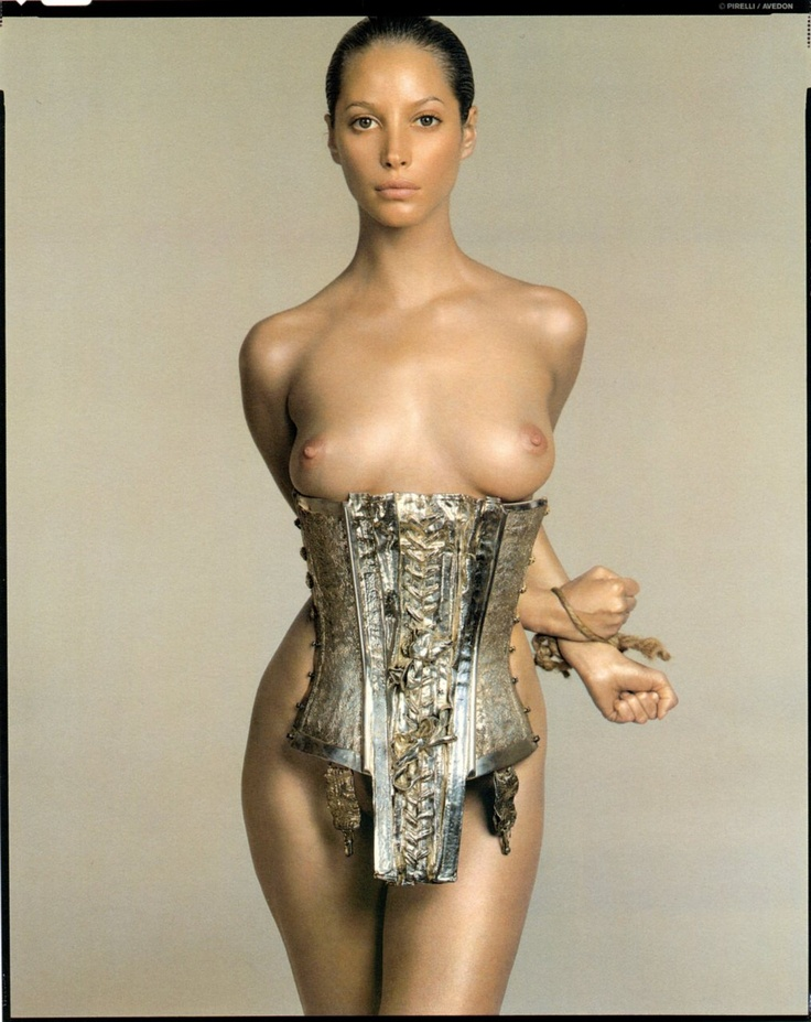 Christy Turlington photographed by Richard Avedon for the 1995 Pirelli Calender