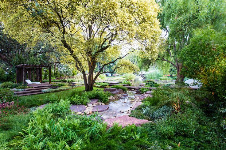 Family-friendly garden layout at the Melbourne International Flower & Garden Show. Photography: Claire Takacs | Story: Australian House & Garden