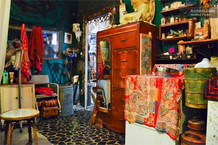 Check out the Most Eccentric AirBnB Pad in NYC | Messy Nessy Chic