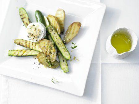 Rezept: Gegrillte Zucchini und Kartoffeln