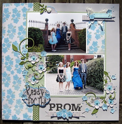 scrapbooking - for the love of paper: Ready for the Prom.