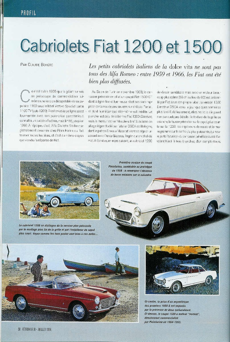 Fiat Cabriolets