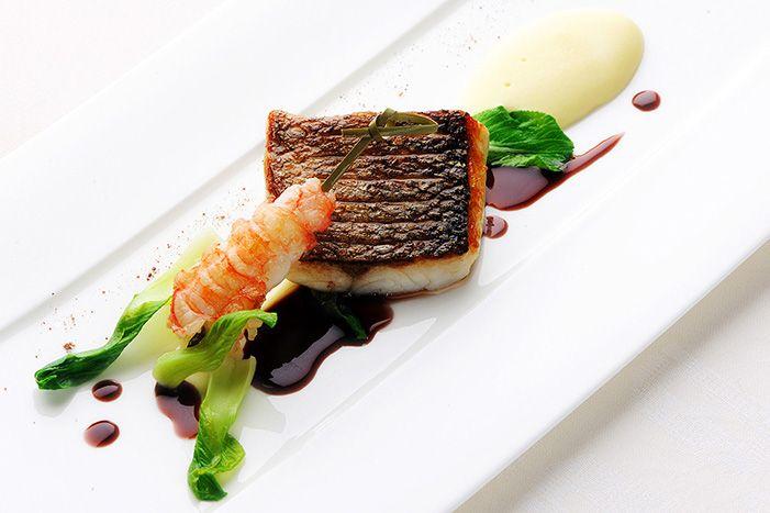 A dish by Chef Raymond Blanc