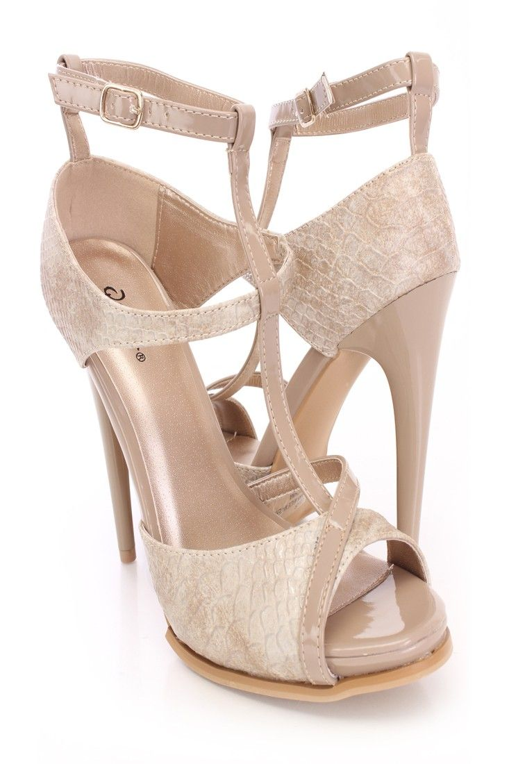 Nude 5 Inch Heels