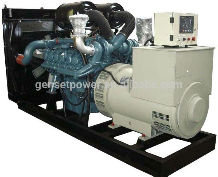 Auto start Korea doosan motor electricity generator power generator