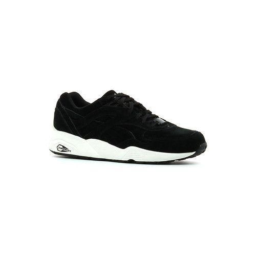 Baskets+basses+Puma+R+698+Allover+Suede+Black+/+White+76.50+€