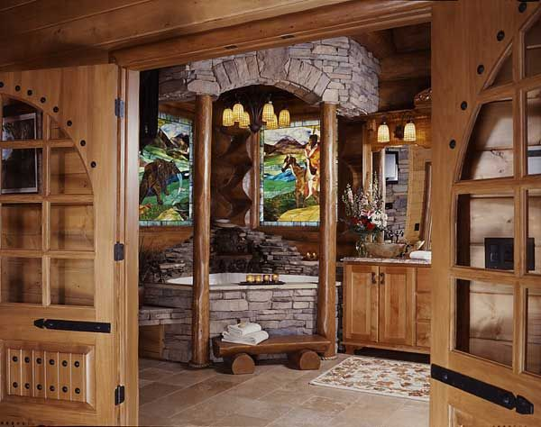 165 Best Cabin Bathroom Design Ideas Images On Pinterest Spaces Architecture And Bath