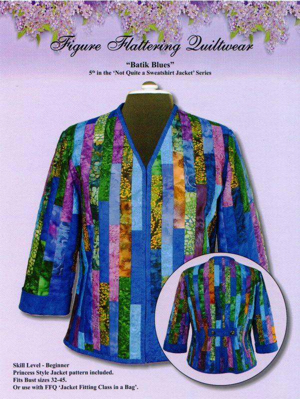 sweatshirt jacket patterns | Quilted Jacket & Vest Patterns