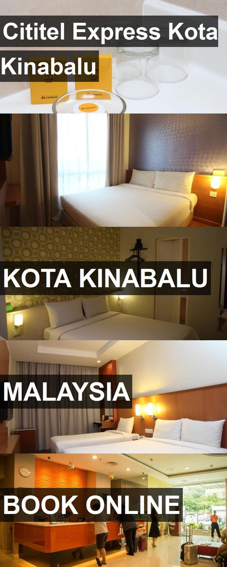 Hotel Cititel Express Kota Kinabalu in Kota Kinabalu, Malaysia. For more information, photos, reviews and best prices please follow the link. #Malaysia #KotaKinabalu #travel #vacation #hotel