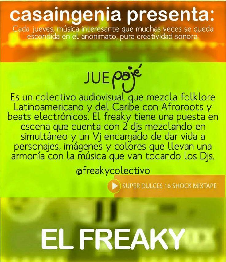 El Freaky y su sabor en Juepagé.  https://soundcloud.com/elfreaky/26-shake-that-chocolate