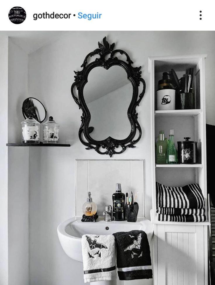 pinlaura moriarty on gothic bathroom inspiration