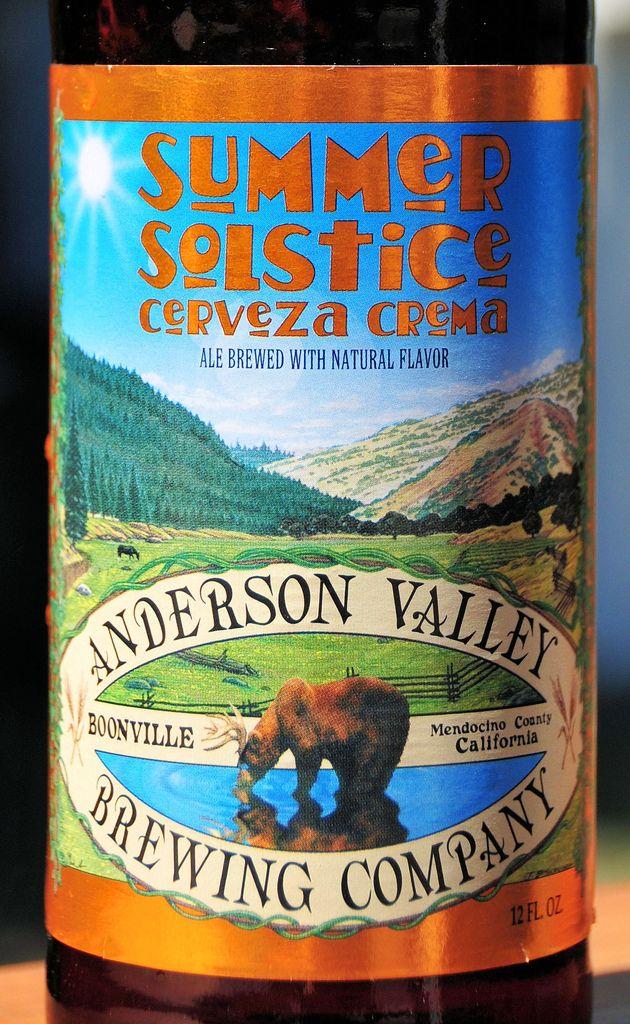 Anderson Valley Summer Solstice Cerveza - Booneville CA