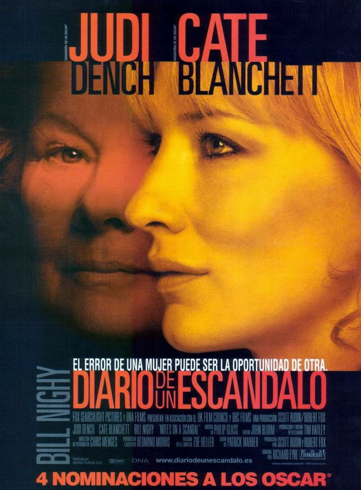 Cine Resumido: Notes on a Scandal / Diario de un Escándalo (2006)...