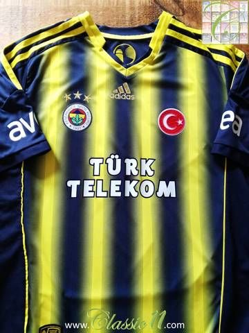 Official Adidas Fenerbahçe home football shirt from the 2013 14 Season. 24058b0ee133e