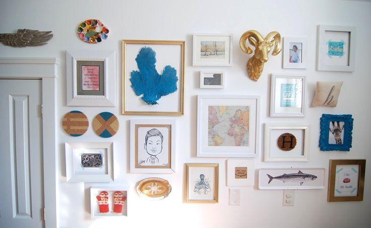 nice gallery wall