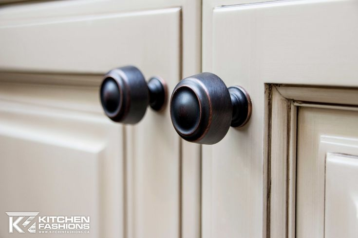 Black oil rubbed bronze hardware knobs