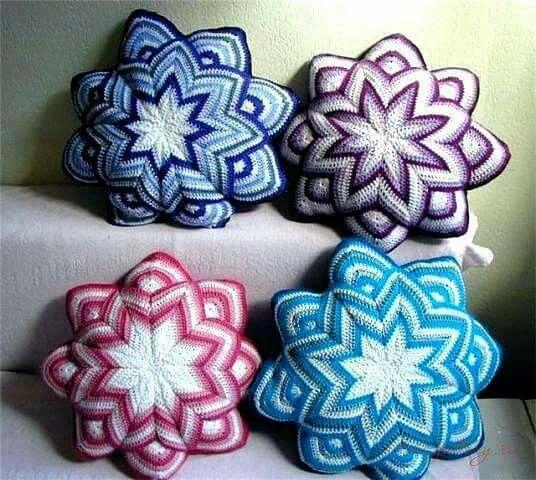 19 Best Crochet  Pillow Cover Patterns Images On Pinterest