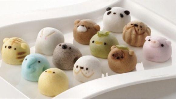 Resep Bakpao Karakter Charpao Unik Japanese Sweets Resep Daging Sapi
