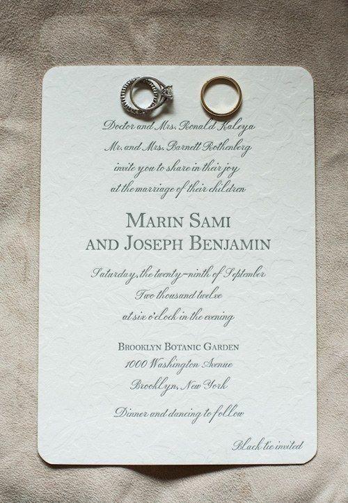 Text Beispiele Hochzeitseinladungen Pinterest