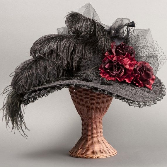 "Victorian/Kentucky Derby ""Sweet Temptation"" hat."