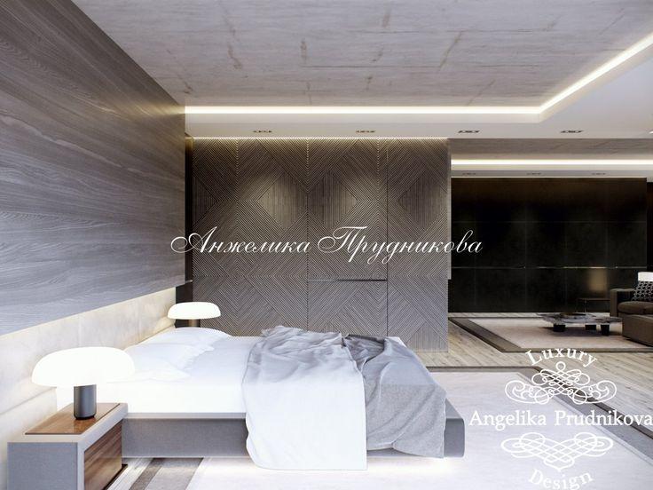 Дизайн интерьера резиденции в поселке Рублево в стиле минимализм - фото
