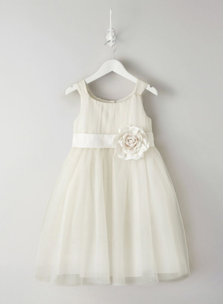 Lola Ivory Bridesmaid Dress - flower girl - Wedding - BHS