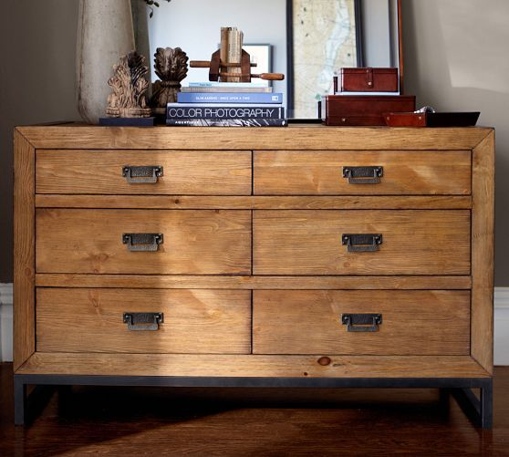 Hendrix Extra-Wide Dresser | Pottery Barn