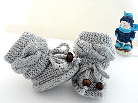 Knitting P A T T E R N Baby Booties Baby Shoes Knitted Baby Booties Knit Pattern Baby Booty Baby Uggs Patterns Baby Boots ( PDF file ) on Etsy, $5.50