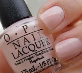 OPI Sweetheart: perfect opaque nude