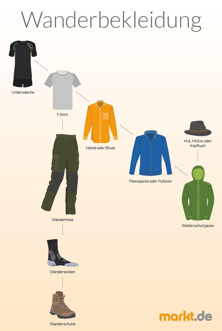 As roupas certas para caminhadas   – markt.de | Wandern