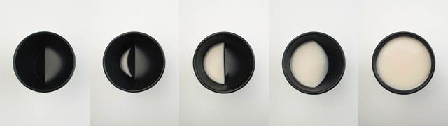 Phases of the moon cup. I would bite my oreos into matching phases for a perfect moon-milk ritual...it would probably have some sort of ancient meaning