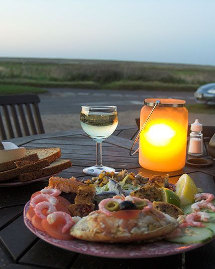 Cookie's Crab Shed is a North Norfolk institution - you get to eat zingy fresh seafood within sight of the sea, then you can buy some to take home   norfolk-self-catering.co.uk