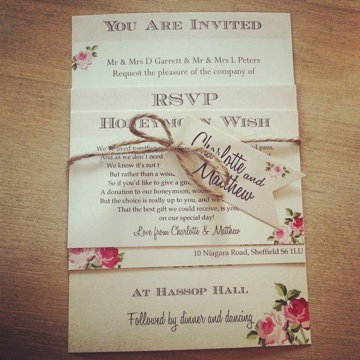 wedding invitation sample by email%0A   Vintage  Shabby Chic Style  u    Charlotte u     wedding invitation stationery  sample