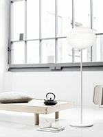 Atomheart Floor lamp designed by Morten Voss - Lightyears  http://www.lightyears.dk/lamps/floor-lamps/atomheart.aspx